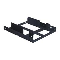 """Kingwin HDM-225 Internal 2.5"""" to 3.5"""" HDD Metal Mounting Kit Black"""