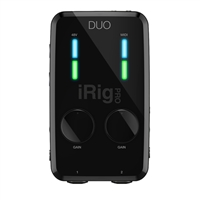IK Multimedia iRig PRO DUO Mobile Interface for iOS/Android/PC/Mac
