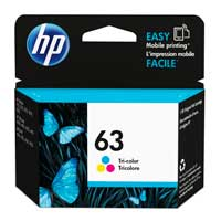 HP 63 Tri-color Ink Cartridge
