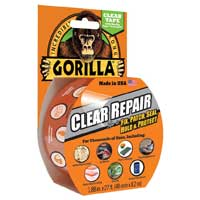Gorilla Glue Clear Repair Tape 27ft