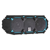 Altec Lansing Mini Life Jacket Bluetooth Speaker - Black/Cyan