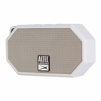 Altec Lansing Mini H2O Bluetooth Speaker - White