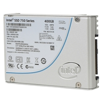 "Intel 750 Series 400GB PCIe 3.0 x4 2.5"" Solid State Drive"