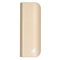 Inland 10,400 mAh Power Bank Battery Charger & LED Flashlight for Mobile Devices - Gold