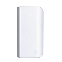 Inland 15,600mAh Power Bank Battery Charger & LED Flashlight for Mobile Devices - Silver