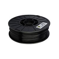 Aleph Objects 3mm Black ABS Plastic Filament - 1kg Spool (2.2 lbs)