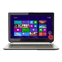 "Toshiba Satellite E45t-B4106 14"" Laptop Computer Refurbished - Brushed Aluminum Finish in Satin Gold"