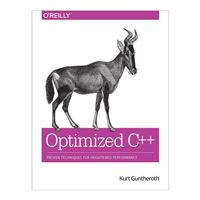O'Reilly OPTIMIZED C++