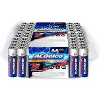 ACDelco Alkaline AA Batteries - 100 Pack