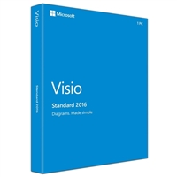 Microsoft Visio Pro 2016 (Windows)
