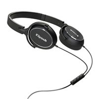 Klipsch Audio Technologies R6i On-Ear Headphones w/ Mic - Black