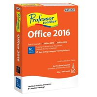 Individual Software Professor Teaches - Office 2016 (PC)