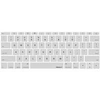 "MacAlly Keyboard Protector for 12"" Macbook 2015 Edition - Silver"