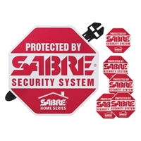 Sabre Security Security Yard Sign