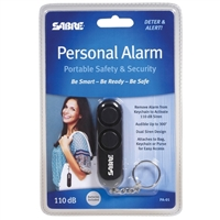 Sabre Security Keychain Personal Alarm Black