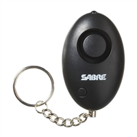 Sabre Security Personal Alarm Keychain with LED Light