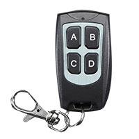 Adafruit Industries Keyfob 4-Button RF Remote Control - 315MHz