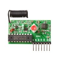 Adafruit Industries Simple RF M4 Receiver - 315MHz Momentary Type