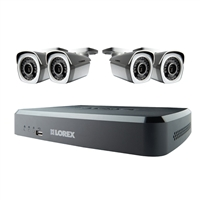 Lorex 8 Channel Surveillance System with 4 HD Cameras and 2TB HD DVR