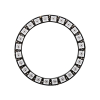 Adafruit Industries NeoPixel Ring - 24 x WS2812 5050 RGB LED with Integrated Drivers
