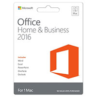 Microsoft Office Home & Business 2016 (Mac)