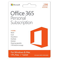 Microsoft Office 365 Personal Edition (PC/Mac)