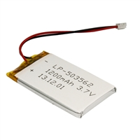 MCM Electronics Lithium Ion Polymer Battery - 3.7v 1200mAh