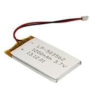 MCM Electronics Lithium Ion Polymer Battery - 3.7v 1200mAh