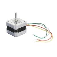 MCM Electronics Stepper motor - NEMA-17 size - 200 steps/rev, 12V 350mA