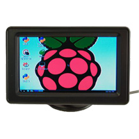 "Adafruit Industries 4.3"" LCD Display with Composite Input for Raspberry Pi"