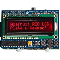 Adafruit Industries RGB Negative 16x2 LCD and Keypad Kit for Raspberry Pi