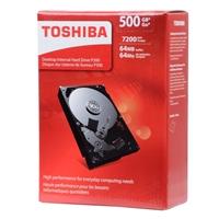 "Toshiba P300 500GB 7,200 RPM SATA III 6Gb/s 3.5"" Desktop Internal Hard Drive - HDWD105XZSTA"