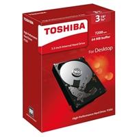 "Toshiba P300 3TB 7,200 RPM SATA III 6Gb/s 3.5"" Desktop Internal Hard Drive - HDWD130XZSTA"