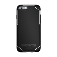 Griffin Survivor Journey Case for iPhone 6+/6s+ (Black/White)