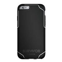 Griffin Survivor Journey Case for iPhone 6/6s (Black/White)