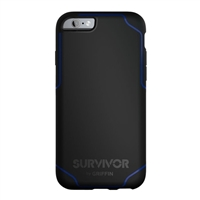 Griffin Survivor Journey Case for iPhone 6/6s (Black/Blue)