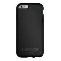 Griffin Survivor Journey for iPhone 6/6s (Black/Gray)