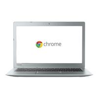 "Toshiba CB35-C3300 13.3"" Chromebook 2 - Ice Blue Silver"