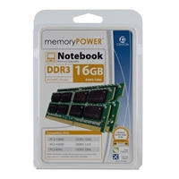 Centon MemoryPOWER 16GB 2 x 8GB DDR3-1600 PC3-12800 SO-DIMM Memory Kit