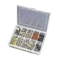 Ziotek Mini Storage Box with Hardware Assortment Pack