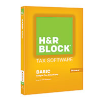 Block Financial Software H&R Block Tax Preparation Software - Basic