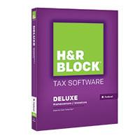 Block Financial Software H&R Block Tax Software Deluxe