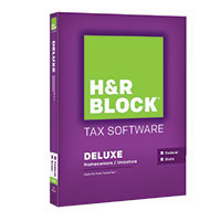 Block Financial Software H&R Block Tax Software Deluxe State