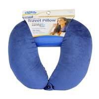 Cloudz Microbead Neck Pillow - Navy