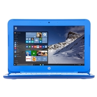"HP Stream 11-r010nr 11.6"" Laptop Computer - Cobalt Blue"