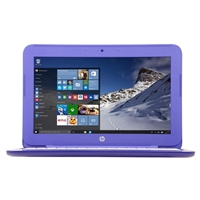 "HP Stream 11-r020nr 11.6"" Laptop Computer - Violet Purple"