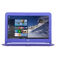 "HP Stream 13-c120nr 13.3"" Laptop Computer - Violet Purple"