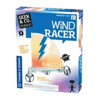 Thames & Kosmos Wind Racer - Wind Powered Vehicles Kit