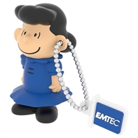 Emtec International 8GB Peanuts USB Flash Drive Lucy