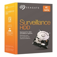 "Seagate Surveillance 4TB 5,900 RPM SATA III 6Gb/s 3.5"" Internal Hard Disk Drive Kit STBD4000101"